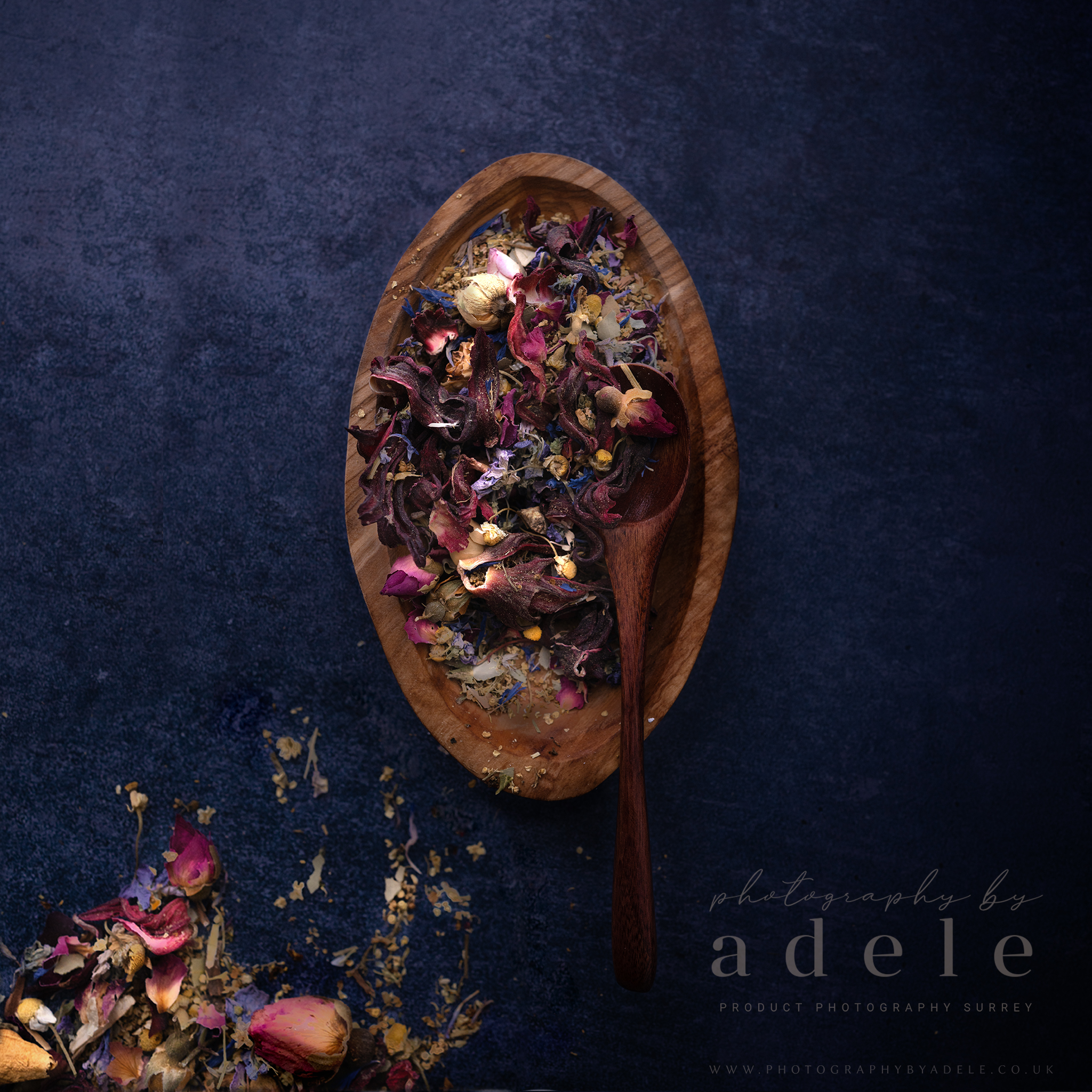 mini photo shoot floral teas